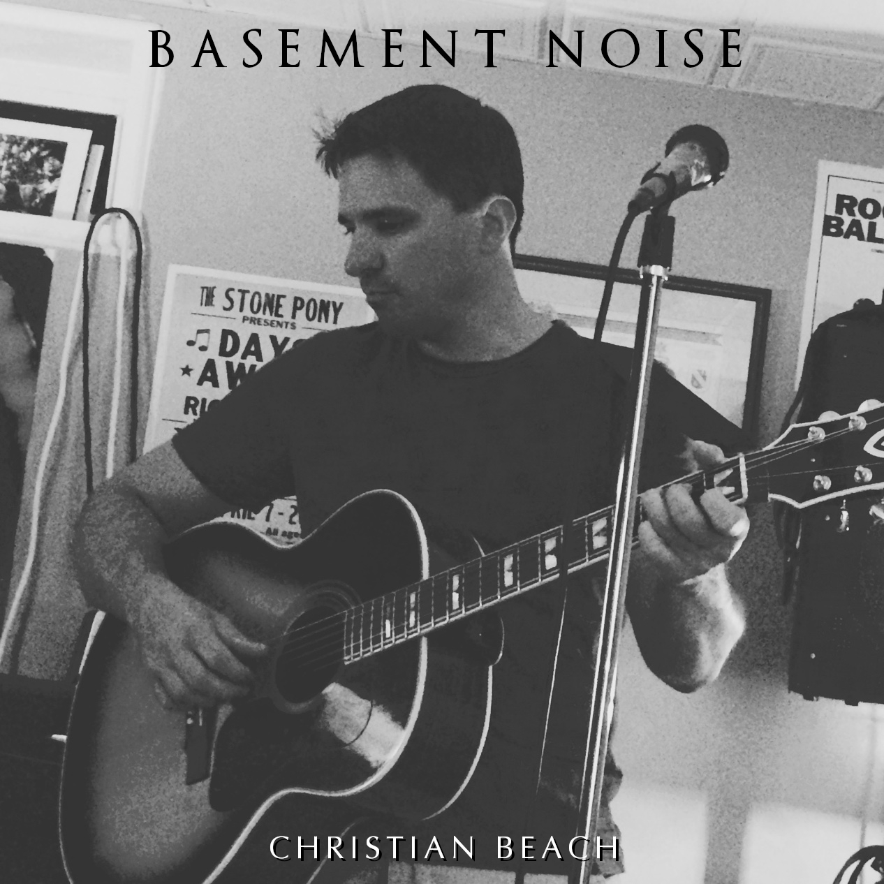Cover image of Basement Nosie by Christian Beach.